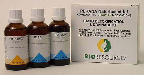 DETOX PACK(order individually) ITIRES, apo-HEPAT, RENELIX (50 ml kit)