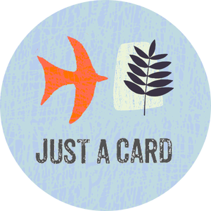 Please support independent makers,shop's it's justacard