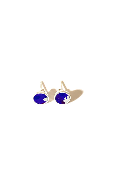 Bright Purple/mix coloured Stud Earrings