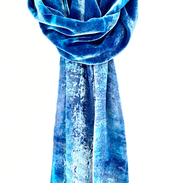 Cornish Blues Sea Scarf II