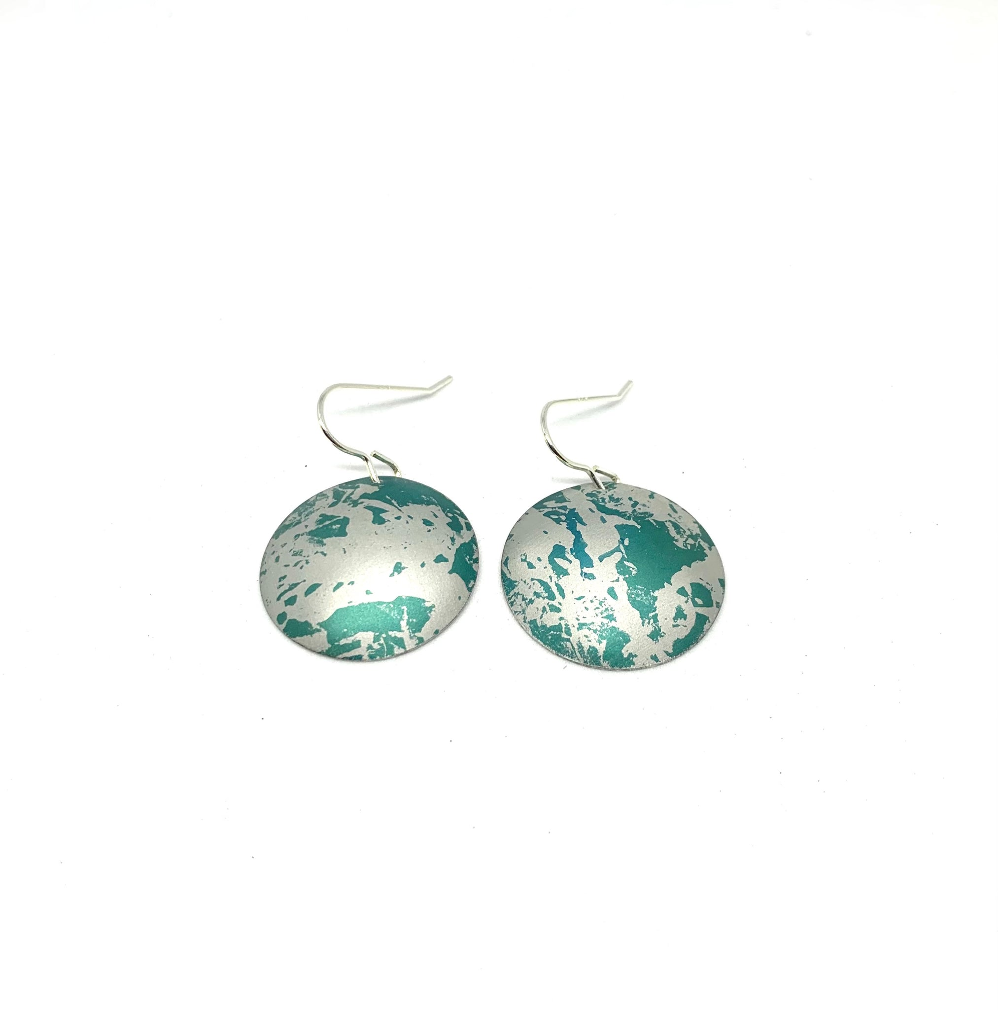 Aqua Green Earrings