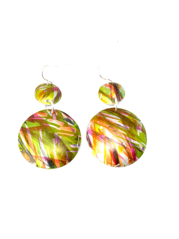 Tropical floral Earrings
