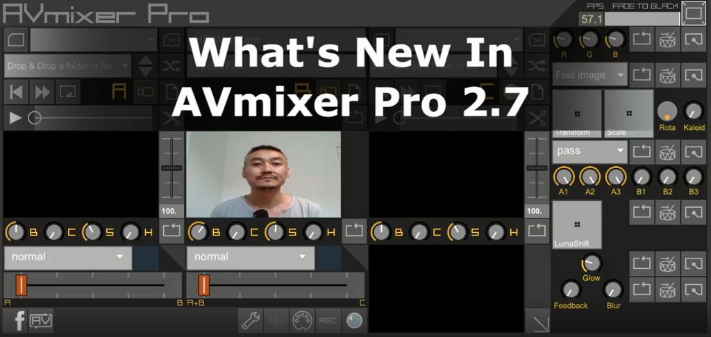 What's new in AVmixer Pro 2.7