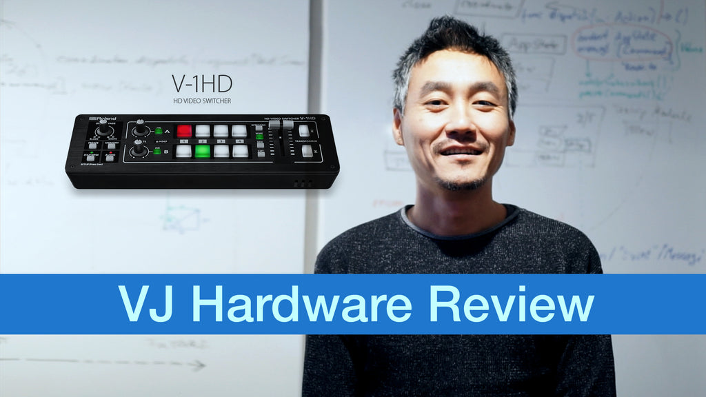 Roland V-1HD VJ Hardware Review