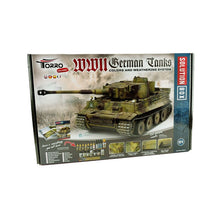Laden Sie das Bild in den Galerie-Viewer, 1/16 RC Panzer III unlackiert BB + Solution Box