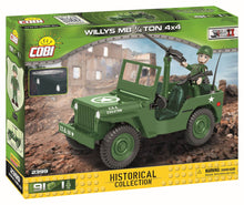 Laden Sie das Bild in den Galerie-Viewer, COBI 2399 - Willys MB 1/4 Ton 4x4