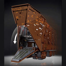 Laden Sie das Bild in den Galerie-Viewer, Mould King Star Wars Sandcrawler