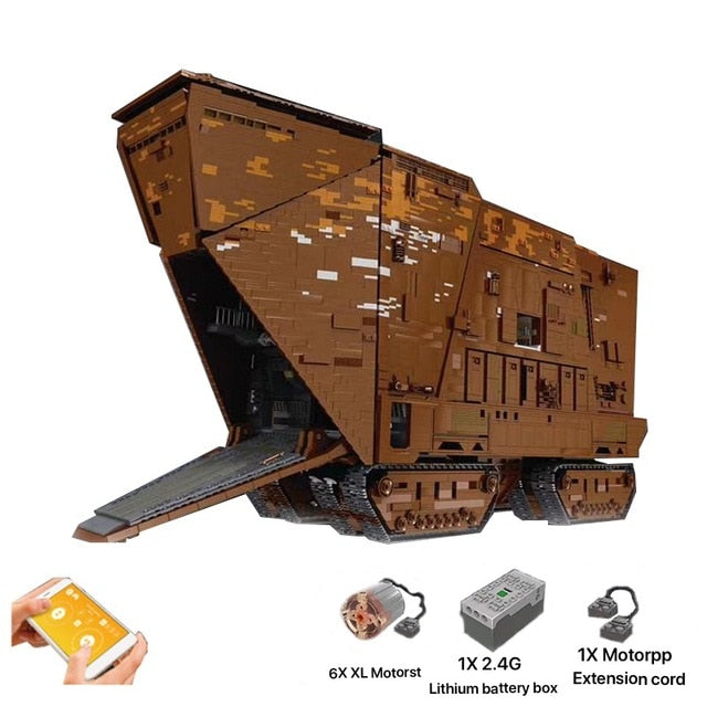 Mould King Star Wars Sandcrawler