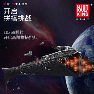 Mould King MOC Star Wars Eclipse-Class Dreadnought