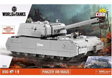 Laden Sie das Bild in den Galerie-Viewer, COBI 3024 - Panzer VIII MAUS World of Tanks