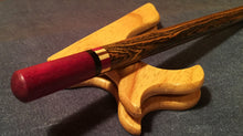 Load image into Gallery viewer, 2-Piece Wand-Bocote Body w/Purpleheart Tips