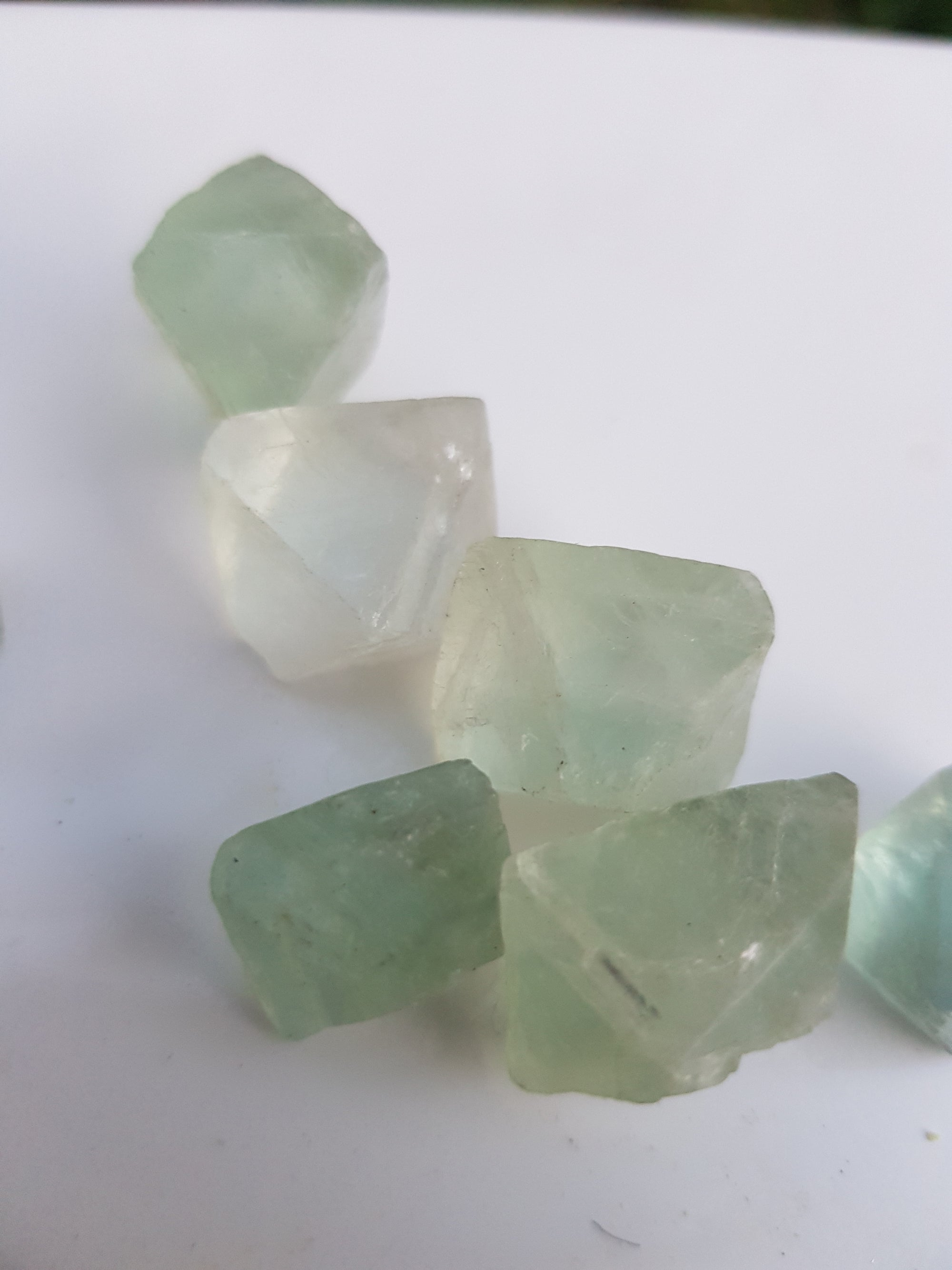 Fluorite octohedron - The Science of Magic