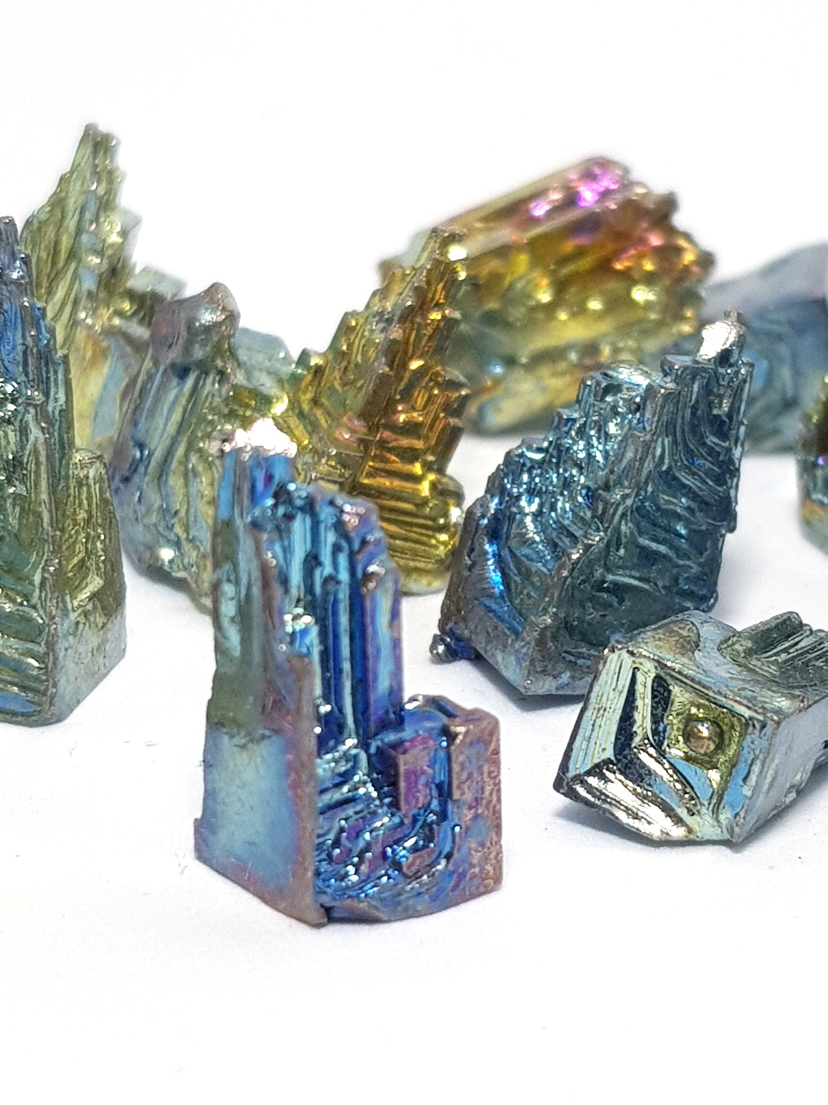Mini Bismuth Crystals - The Science of Magic