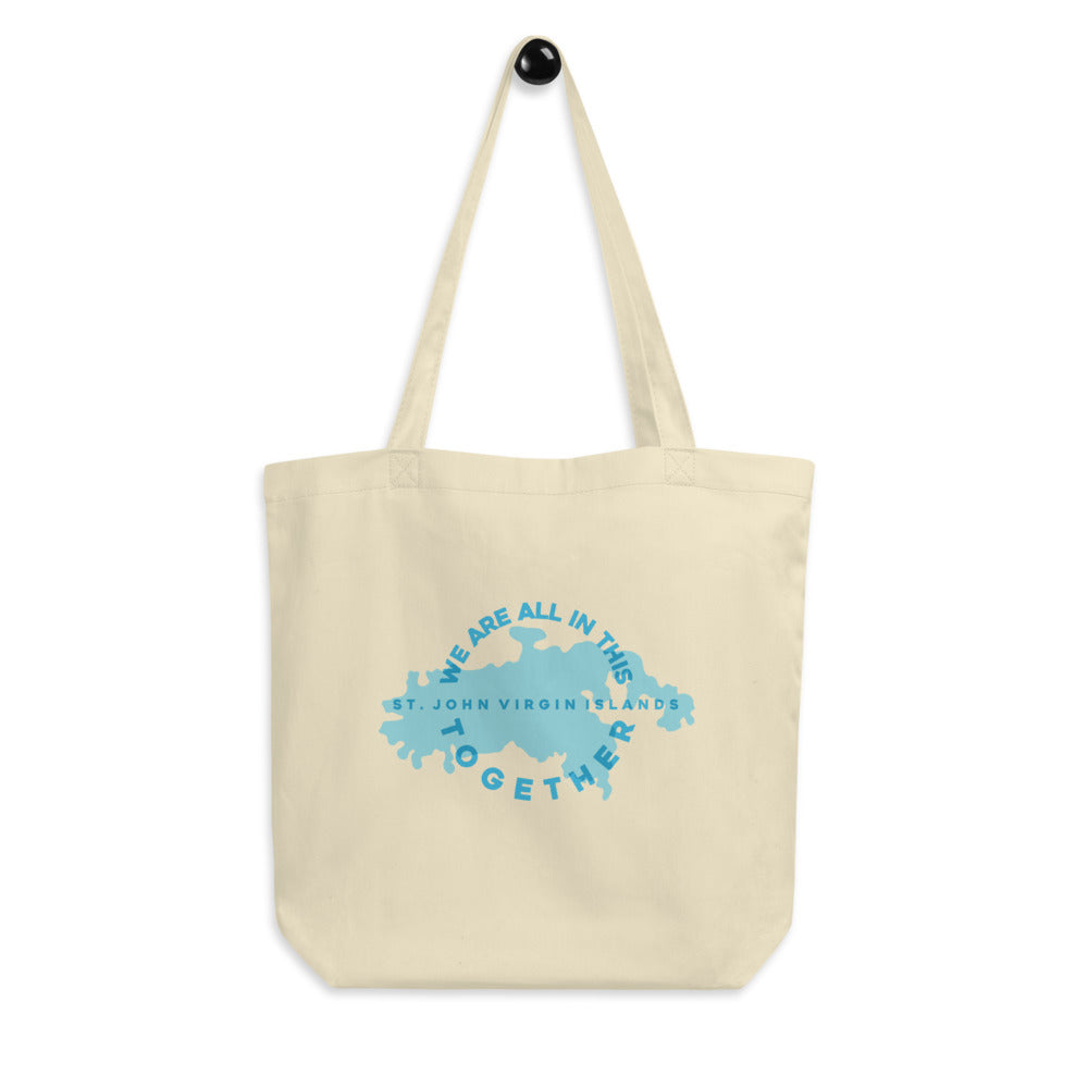 together stj organic tote
