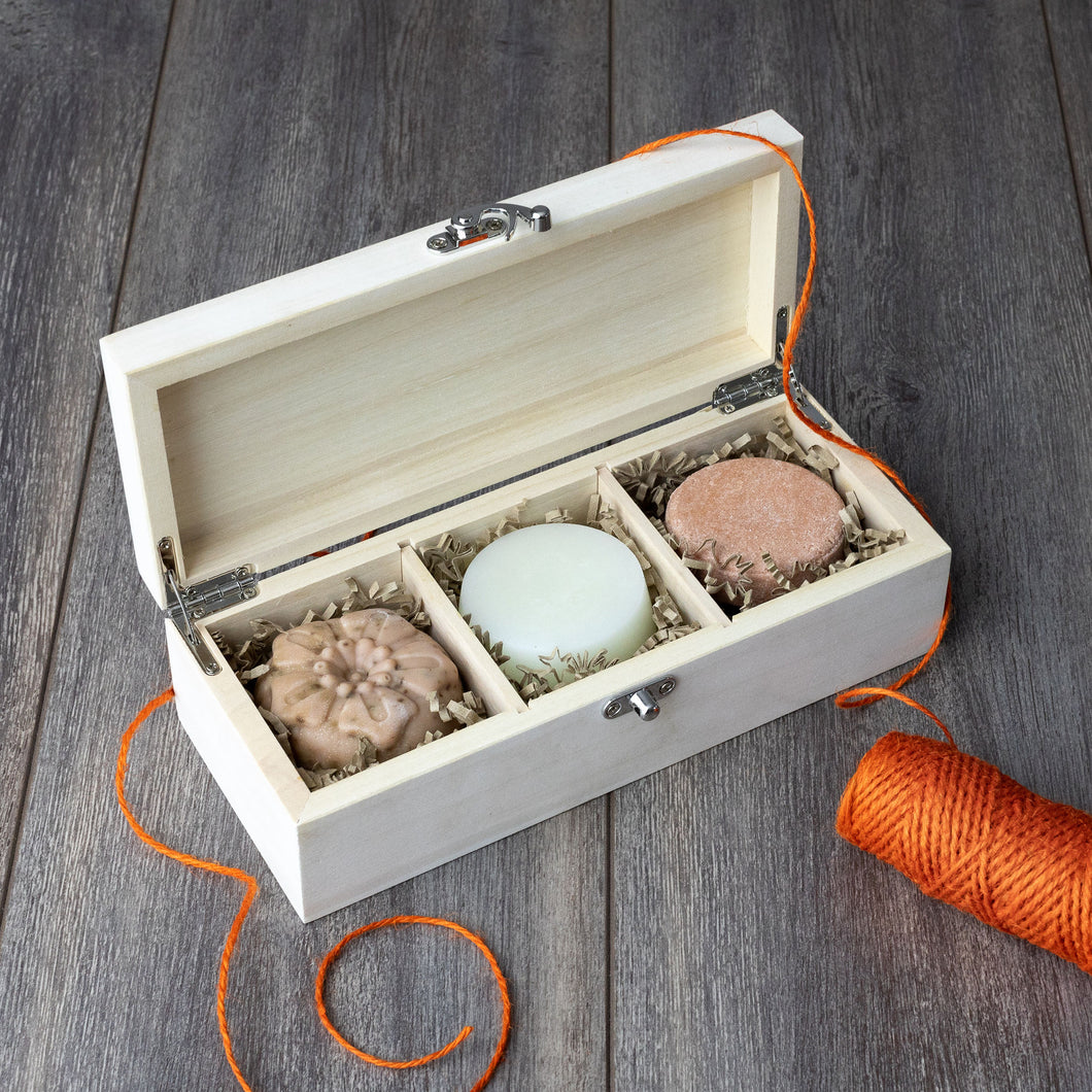 Zero waste plastic free bathroom gift set