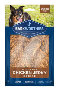 Barkworthies Chicken Jerky 12OZ