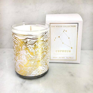 Cepheus - White Collection Candle