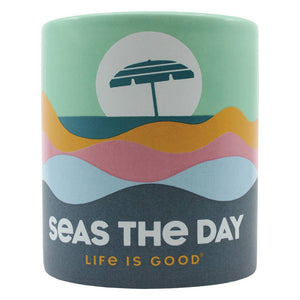 A Cheerful Giver - Life Is Good® - Seas The Day 12oz. Soy Candle