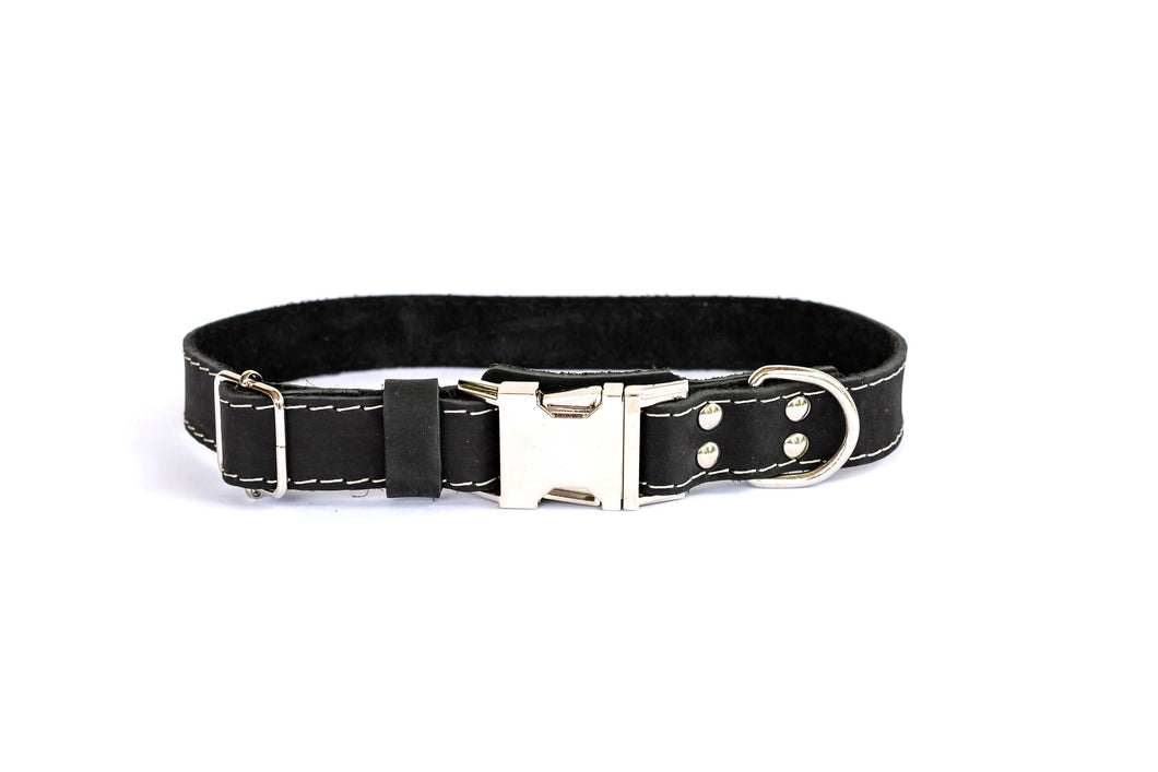 Euro-Dog Collars and Leads - Collar Quick Release - Black