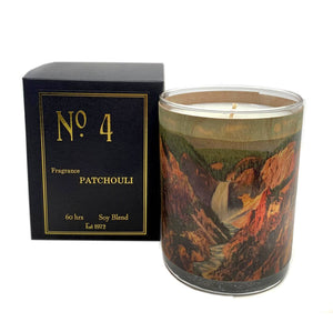 No 4 Patchouli Candle
