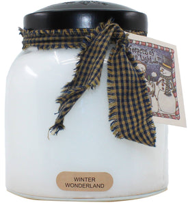 34oz Winter Wonderland Papa Jar