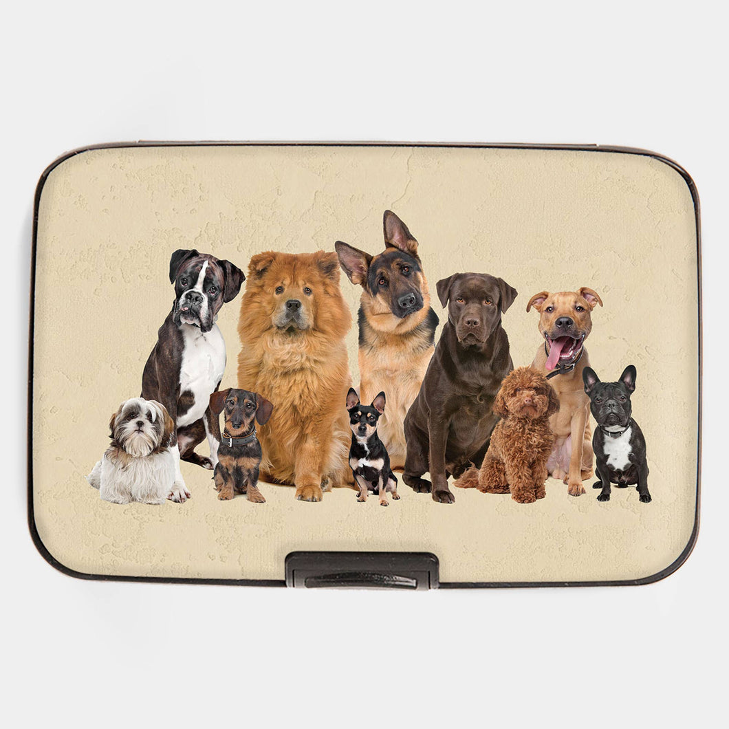 Dog Breeds Armored Wallet