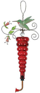 Birds of a Feather Hummingbird Red Feeder