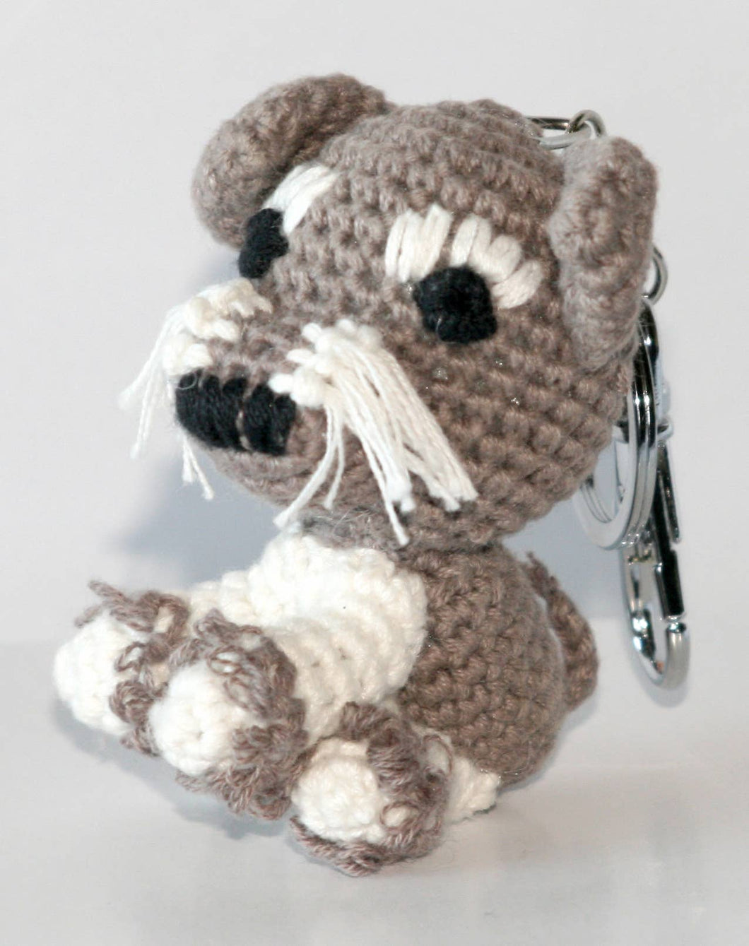 Dog Star Collectable Keychain - Schnauzer