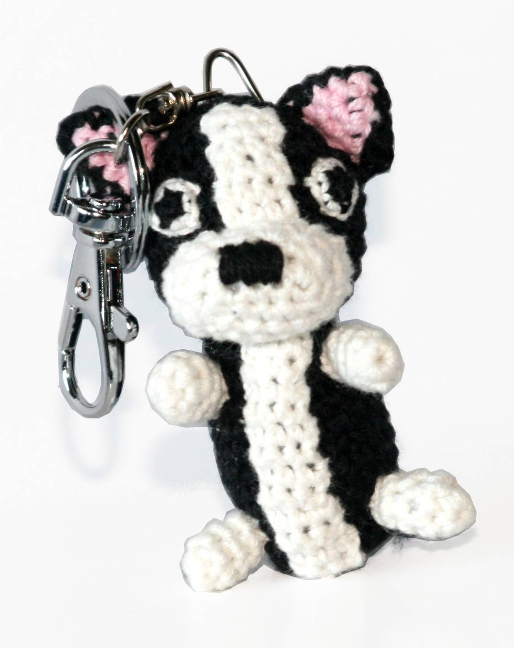 Dog Star Collectible Key Chain - Boston Terrier
