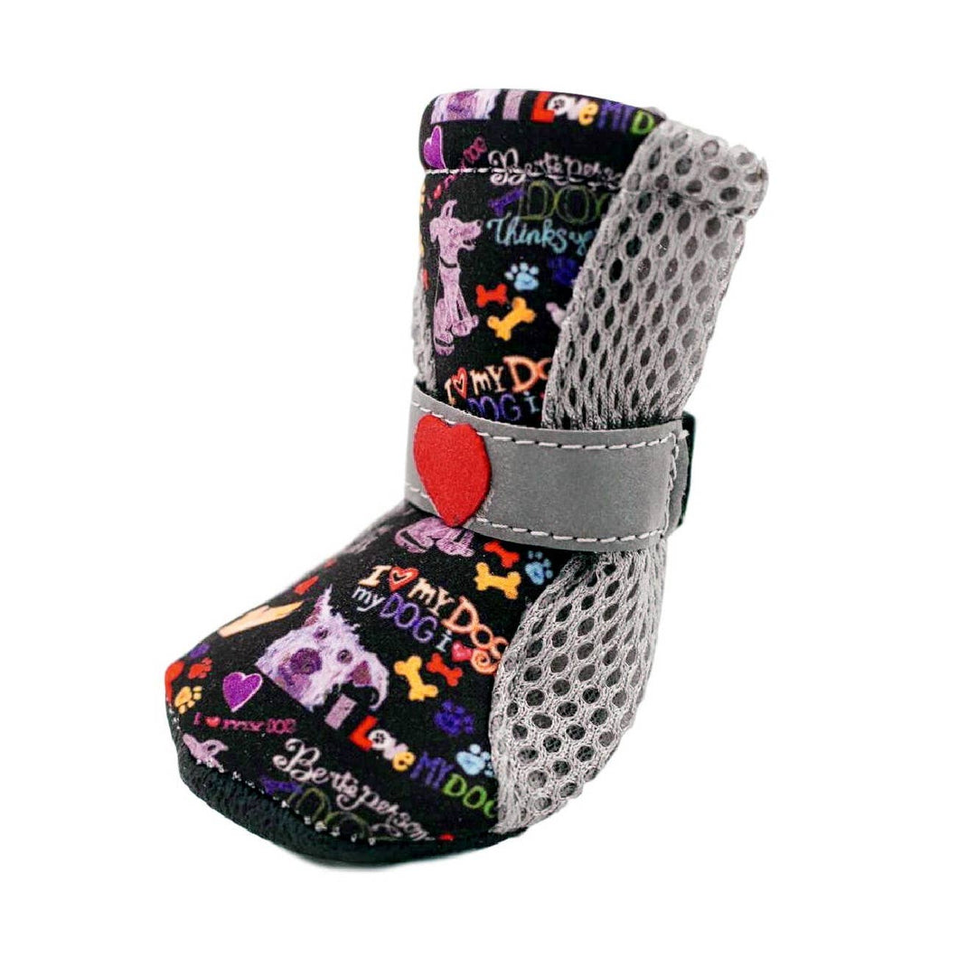 Poochy Pawz - City Shoes - Chalkboard