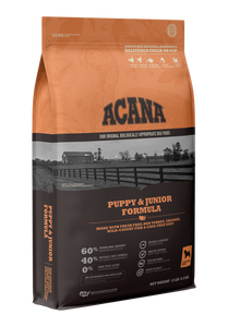 ACANA DOG PUPPY & JUNIOR GRAIN FREE 4.5#
