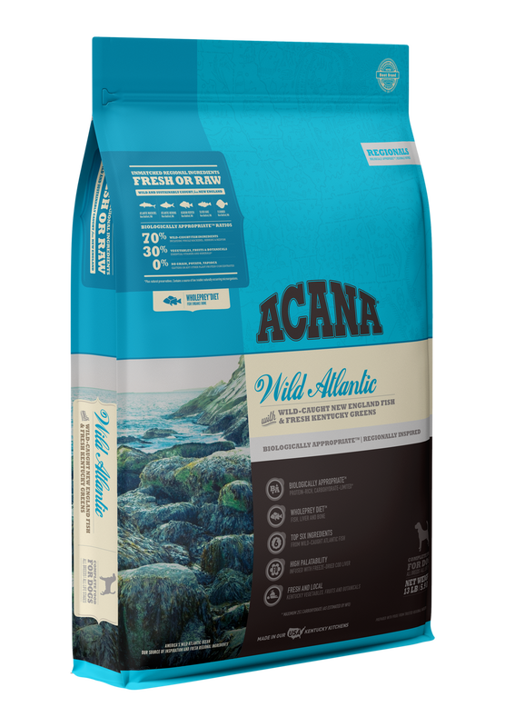 ACANA DOG REGIONALS WILD ATLANTIC GRAIN FREE 4.5#