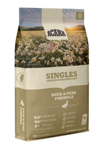 ACANA DOG SINGLES DUCK PEAR GRAIN FREE 25#