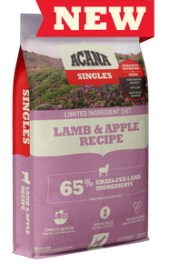 ACANA DOG SINGLES LAMB APPLE 4.5#