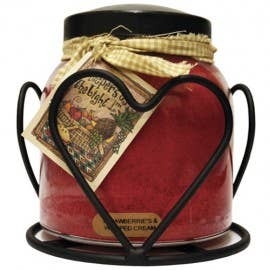 Heart Candle Holder Jar