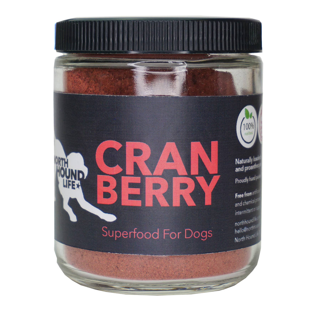 North Hound Life - Organic Cranberry: Superfood for dogs