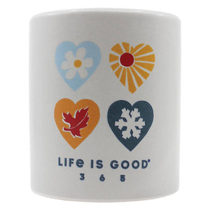 "A Cheerful Giver - Life Is Good® - ""Life Is Good"" 12oz. Soy Candle"