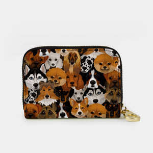 Canine Cousins Zippered Wallet