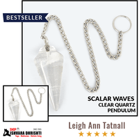 Scalar Waves Clear Quartz Pendulum (Limited stock)