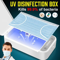 Multi function UV Face Mask Sterilizer Box