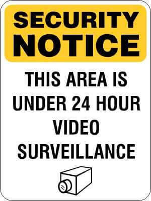 Security Signs | Video Surveillance Signs