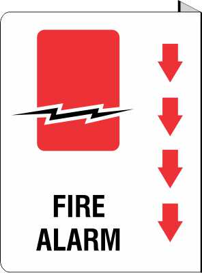 Fire Alarm -  Projecting Sign