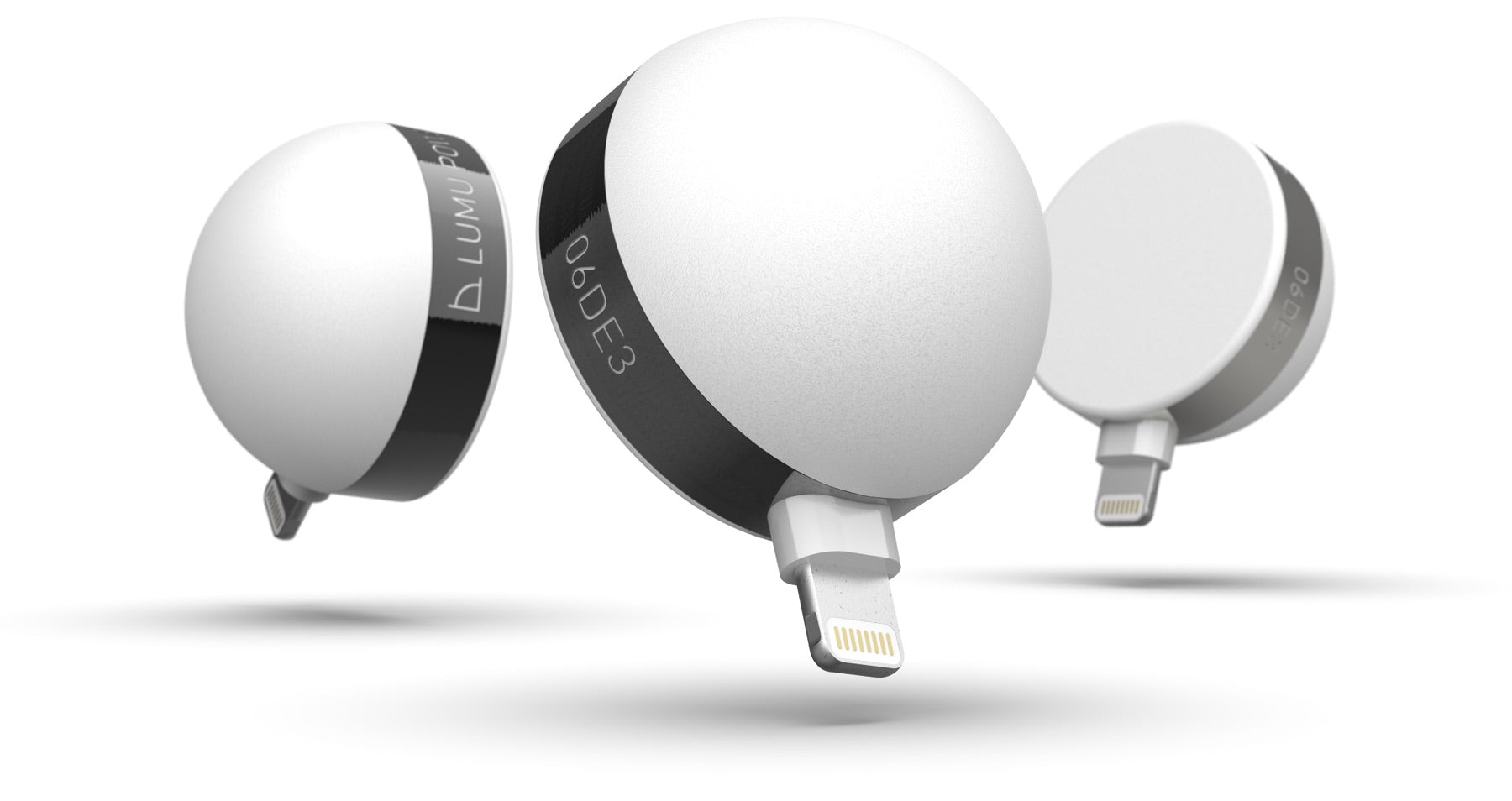 three lumu light meters