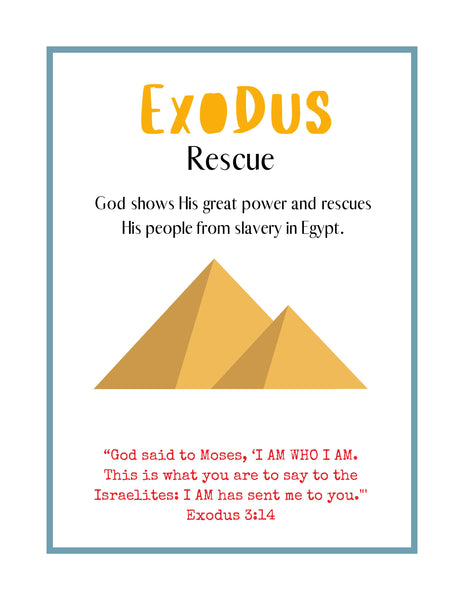 Exodus Bible Lesson (FREE) Curriculum Sample