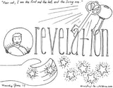 Books of the Bible Coloring Book - 66 Pages