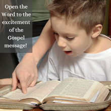 "Load image into Gallery viewer, ""New Year New Life"" 4-Week Children's Ministry Curriculum Centered on the Gospel"