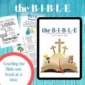The BIBLE Unit 1: Genesis to Ezra (13 Week Curriculum) download only