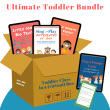 Load image into Gallery viewer, The Ultimate Toddler Bundle: Everything you need to teach age 1-3 about God