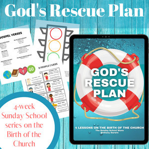 God's Rescue Plan: 4-Week Curriculum on the Birth of the Church (download only)