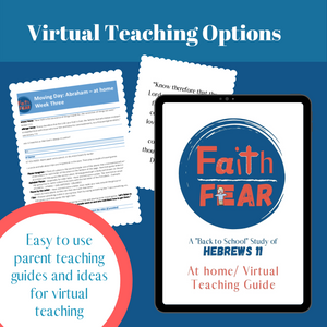 Faith Over Fear: 5-Week Curriculum (download only)